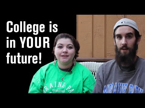 Zoe & Alex think college is in your future!