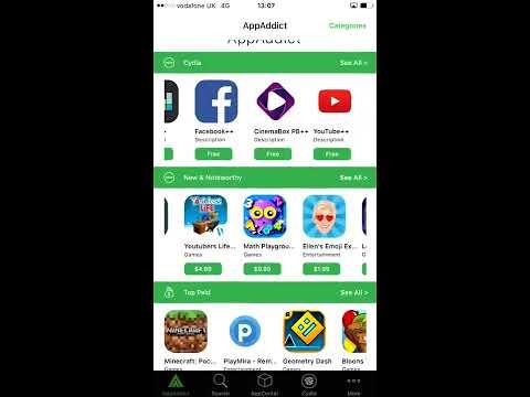 AppAddict 5.1 Sneak Peak - Cracked iOS Apps NO JAILBREAK - 2017