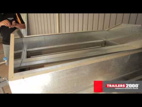 Trailers 2000 Tradesman's Canopy Assembly