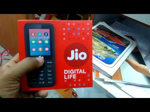 Jio Phone Unboxing and review - 1500Rs Dhamaka