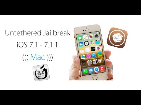Untethered Jailbreak iOS 7.1 - 7.1.1 - 7.1.2 For (Mac)