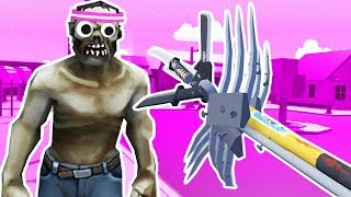 Biggest Zombie Weapon Ever! - Undead Development Gameplay - Vr Htc Vive Pro