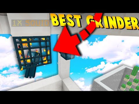 BUiLDiNG THE BEST SKYBLOCK MOB GRiNDER!! (Minecraft SkyBlock)
