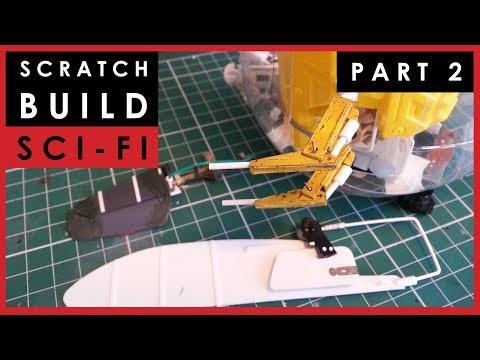 Scale model science fiction ship scratch build - Part 2