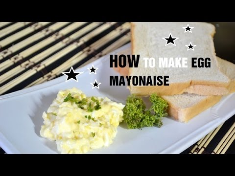 How to Make Egg Mayonaise