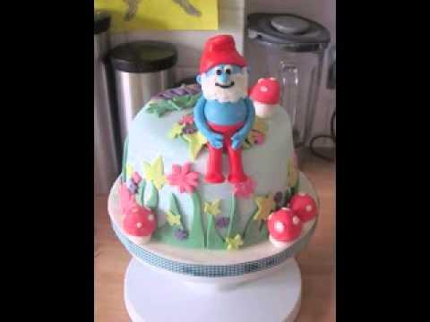 Smurf cake ideas
