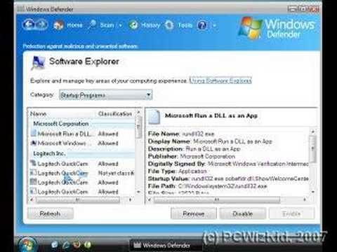 Windows Vista Tip - Optimizing Start Up Apps