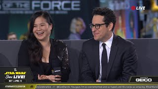 J.J. Abrams & Kelly Marie Tran At SWCC 2019 | The Star Wars Show Live!