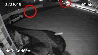 ACTUAL SECURITY FOOTAGE OF SOMEONE BREAKING INTO MY CAR