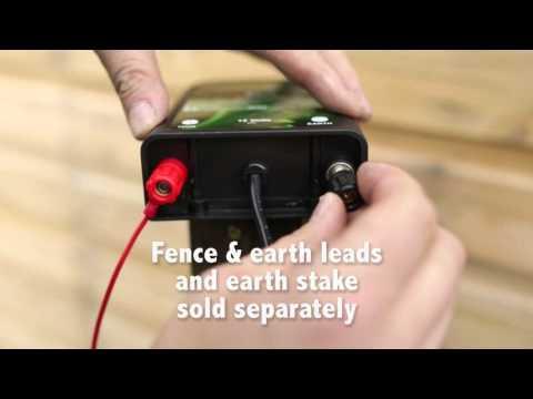 XSTOP Electric Fence Energiser BA100