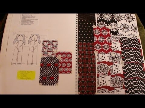 BA Womenswear (Fashion and Textiles) Sketchbook Tour (First class degree)