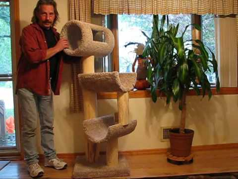 DIY 110 - Cat Tree - Tower - Climber