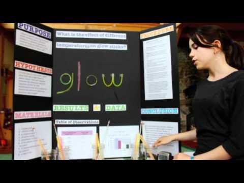 Emma's Science Fair Presentation