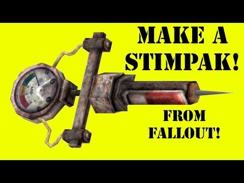 How to Make a Fallout Stimpak (DIY)