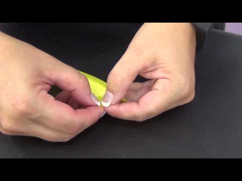 How To Size Your Grease Proof Ribbon by www.SweetWise.com