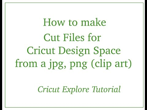 Cricut Explore - Using JPG, PNG Clip Art in Design Space