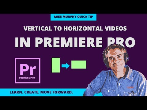 Premiere Pro: Vertical iPhone Videos to Horizontal YouTube Videos