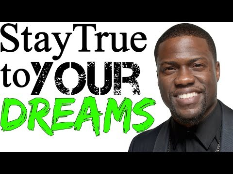 Kevin Hart- Stay True to Your Dreams SPEECH