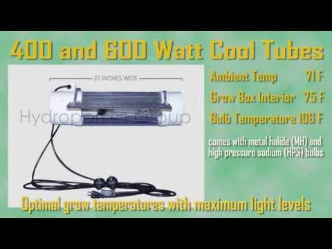 Grow Lights | Cool Tube from Hydroponics Group Features