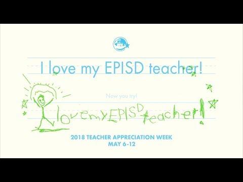 Thank You EPISD Teachers