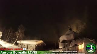 De-snowing the fire hut roof (mini avalanche)
