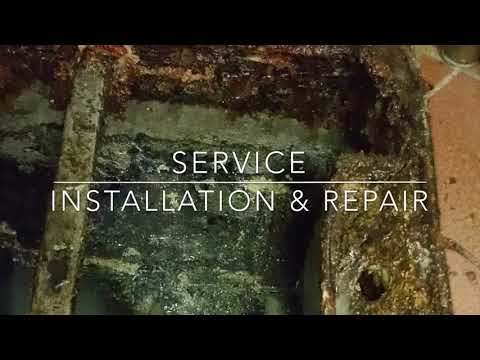 Grease Trap Service, Repair & Installation (Restaurant Commercial Kitchen )