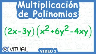 Multiplicación De Polinomios Ejemplo 1 De 6  | Álgebra - Vitual