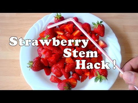How To Remove Strawberry Stem - Lifehack