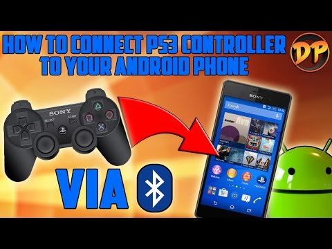 How To Connect A PS3 Controller To Android (via Bluetooth)