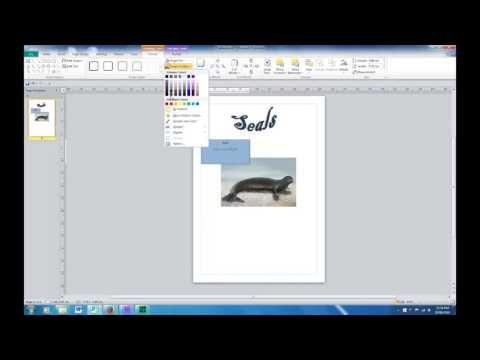 How to Make a Poster in Microsoft Publisher