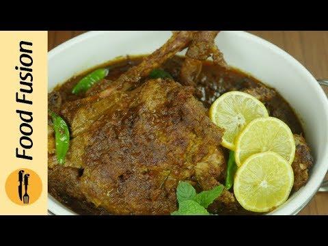 Masala Mutton Leg Roast Recipe By Food Fusion (Eid Recipe)