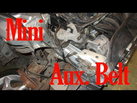 Mini R50 Auxiliary Belt Change