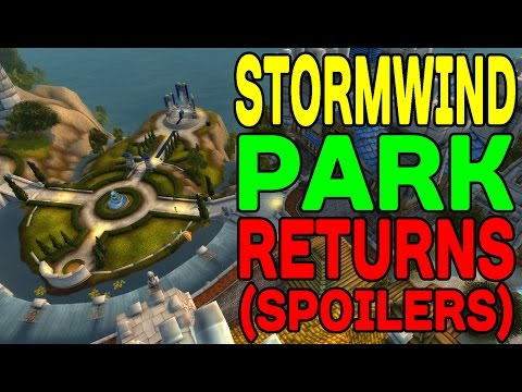 World of Warcraft LEGION: Stormwind Park Returns (SPOILERS) !!