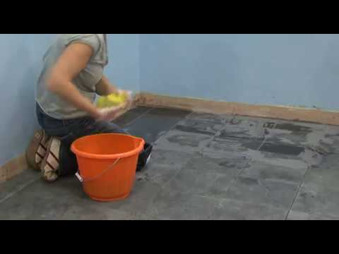How to Grout Tile, Seal and Clean