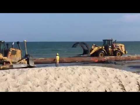 Myrtle Beach Renourishment Project.