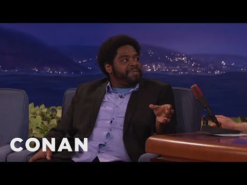 Ron Funches' Vacation Plans: Smoking Weed & Visiting Museums  - CONAN on TBS