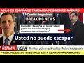 Maduro se tambalea ministros pidieron asilo a España