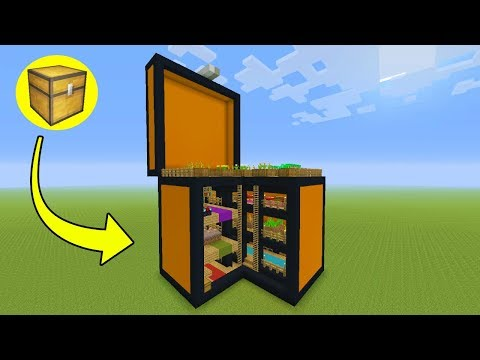 Minecraft Tutorial: How To Make A Chest House