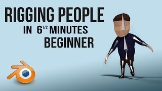 Rigging People | Blender | Quick | Beginner