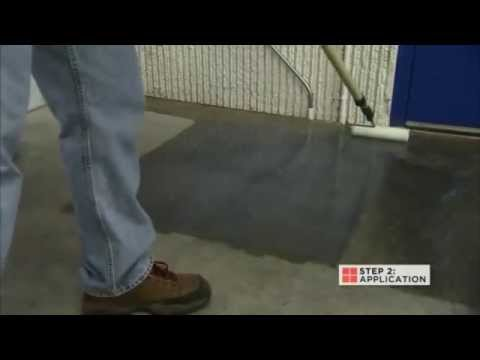 Rust-Oleum Industrial- How To Video: Sealing Dusty Concrete Floors