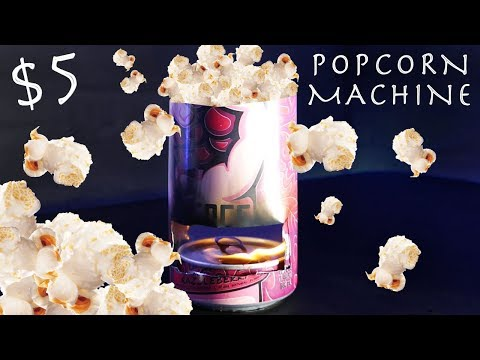 Easy $5 POPCORN MACHINE You Can Make Right Now!