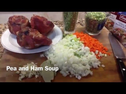 Pea and Smoked Ham Soup