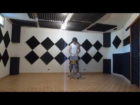 Acoustic panels effect: Cheap room treatment