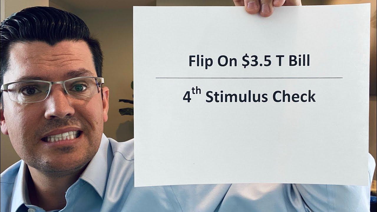 Senator Flip On $3.5 T Bill | 4th Stimulus Check Update | Rand Paul & Dr. Fauci Ugly Fight