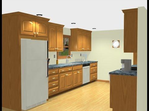 Adding fridge cabinet