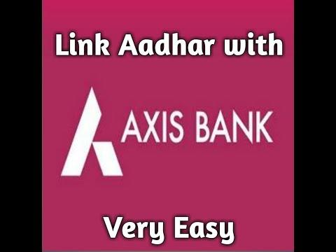 Aadhar Link with Axis Bank