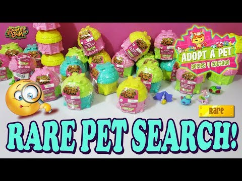 Animal Jam Ultra Rare Pet Search! Series 4 Adopt A Pet Cottages Unboxing!