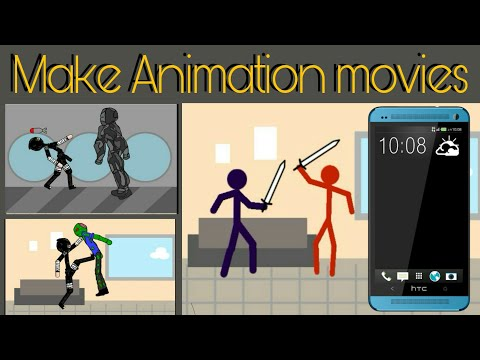 Make a Animation movies with android mobile | draw cartoon 2 full
