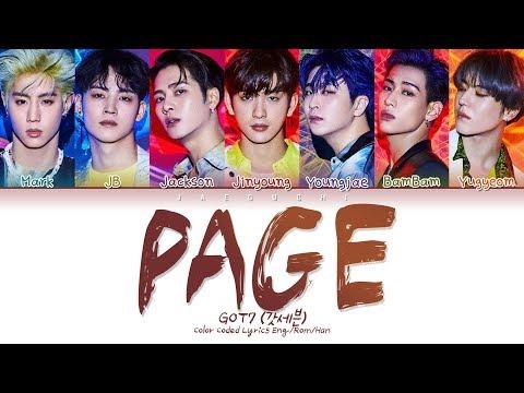 Xxx Mp4 GOT7 갓세븐 PAGE Color Coded Lyrics Eng Rom Han 가사 3gp Sex