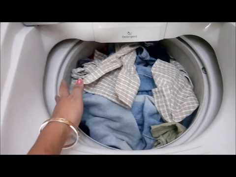 how to wash ur clothes in samsung washing machine (fully automatic)